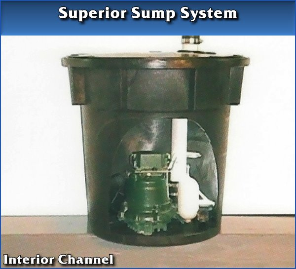 Interior Channel Sump System